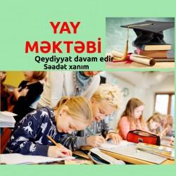 Yay məktəbi: Yay Tətilinizi səmərəli, faydalı və ən əsası