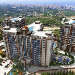 Antalya, Alanya/Mahmutlar mevkiinde 70 m2 alana sahip yeni