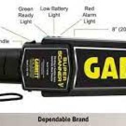 "Bizim şirkətimiz ""Garetti"" metal detektorunu teklif edi."