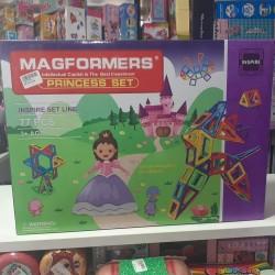 Magformers princess 3 yaşdan yuxarı uyğundur 77 hissəlidir