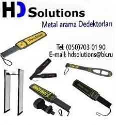 HD Solutions şirkəti metal üst axtarma sistemlərinin