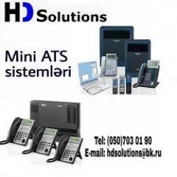 HD Solutions şirkəti olaraq madern mini ATS-santral