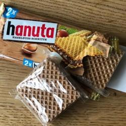 Almanya istehsalı Hanuta Ferrero(Nutella) şokoladın topdan