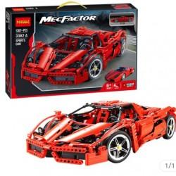 Конструктор 3382 Гонки Гоночный Автомобиль, 1367 деталей