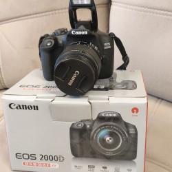 Canon 2000D satilir. Aparat ideal veziyyetdedir. Her hansi
