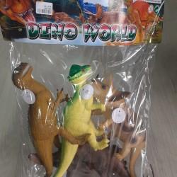 dəstə daxildir 4 ədəd dinozavr çatdırılma var