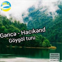 Gəncə-Hacıkənd-Göygöl-Maralgöl turu Oba Turizm Şirkəti