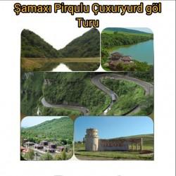 Şamaxı-Pirqulu-Çuxuryurd gölü turu Qurban bayramı tətil