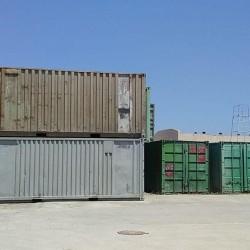 Konteyner satışı. Hal hazırda 20 eded 6 m konteynerler var