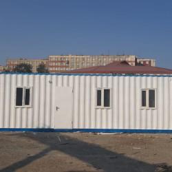 12 m ofis konteynerın satışı. Ofis tipli sendviç panel