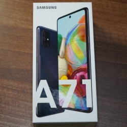 Samsung Galaxy A71. yeni telefon. sat;l;r. qeydiyyatdan