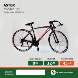 Velosiped Aster 29 24S AS-700 Black-Red İlkin Odenissiz