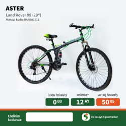 Velosiped Aster 29 Land Rover X9 Black-Green İlkin