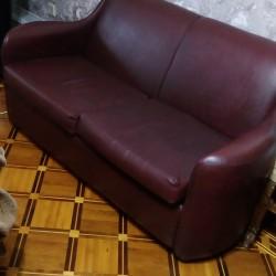 1 divan 2 kreslo qehveyi reng
