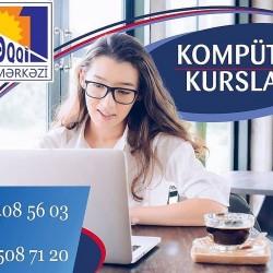 Kompüter kursları Tədris olunur: Windows, MS Word, MS