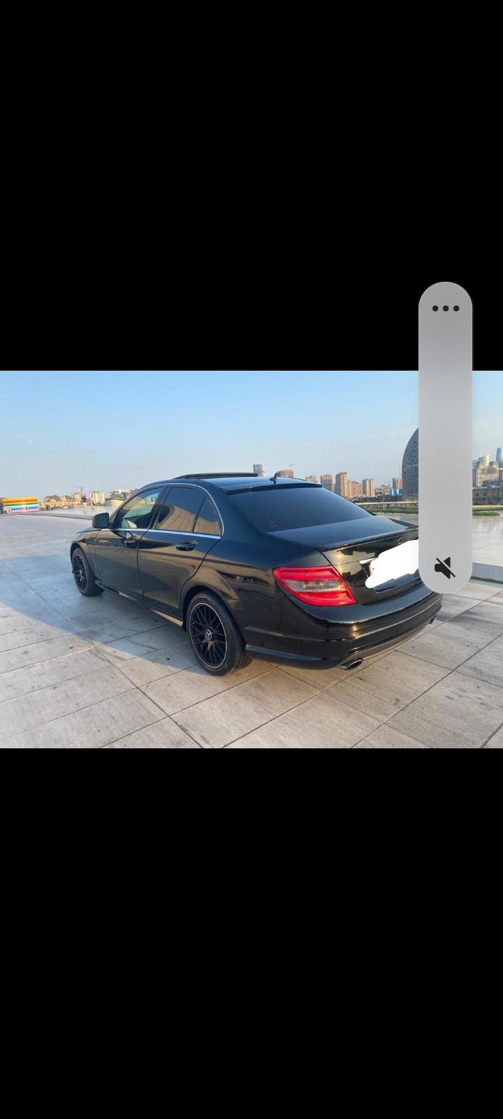 Mercedes C class satılır.2009cu il