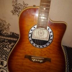 Təcili akustik gitar satılır heç bir prablemi yoxdu