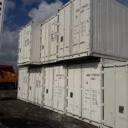 12 metrelik soyuducu konteynerler satılır. soyuducu