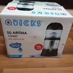 Quicks 16 l qara rəngdə az işlənmiş su filtri satılır.