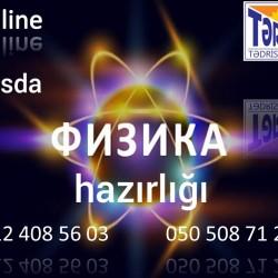 Xətaidə fizika hazırlığı Online və kursda MİQ Abituriyent