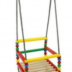 Качели для детей.Пласмасовый и деревянный