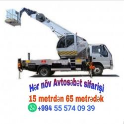 Kran Podyomnik Icaresi 12 metreden 65 metredek sebet