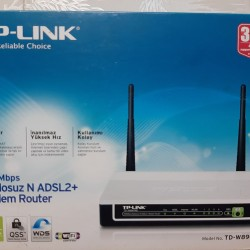 TP-LINK ADSL2+Modem Router Model no:TD-W8961ND Simsiz