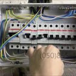 Elektrik şitlərinin yiğilmasi,lüstur,spot,plafon projektor