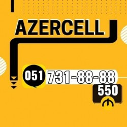 0517318888 Yeni Azercell nomre.kredit yoxdur kreditle diger