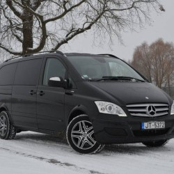 Mercedes vip viano prakatı, mercedes vip viano avtobus