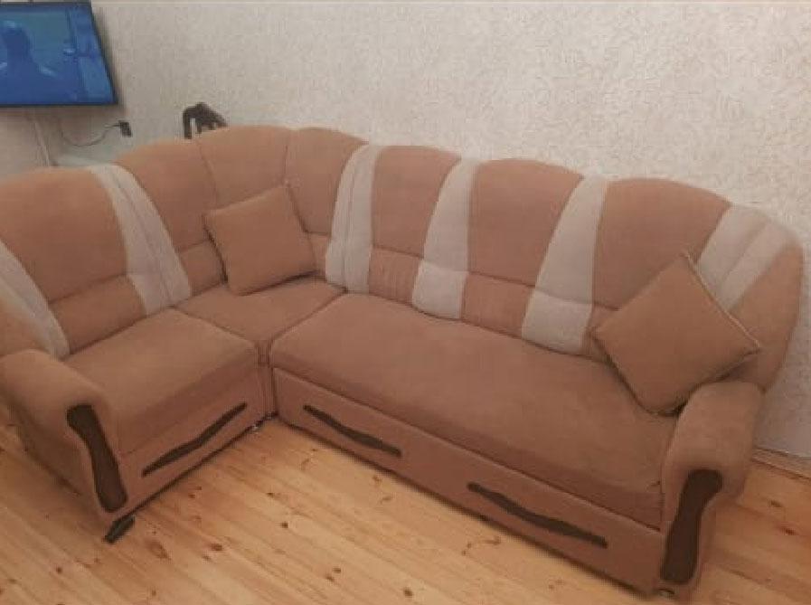 Açılan Künc divanı + 1kreslo Künc divanı açılır 2 nəfərlik