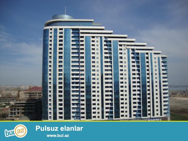 """FOR RENT OFIS AZURE BUSSINES CENTRE. В новопостроенном здание """"Yeni Hayat"""" корпус """"Бизнес Центр Azure"""", на 25-ом этаже 30 этажного здания, предлагается офисное помещение 389 кв..."""