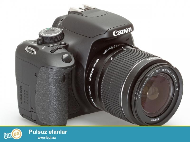 Canon D600 tecili satilir ela veziyyetdedir hecbir problemi yoxdu alan olsa awaqida vererem