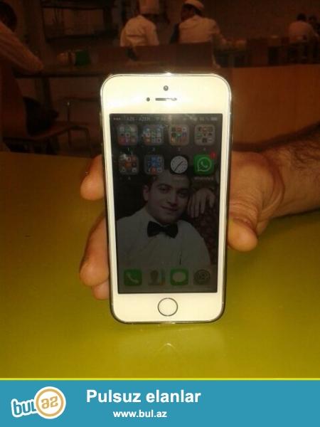 Salam,Ipone 5s-i Samsung galaxy S5-le barter edirem,Fikri ciddi olan elaqe saxlasin,<br /> Ipone 2ayin telefonudur...