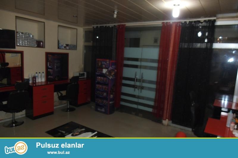 Yasamal rayonunda gozəllik salonu icarəyə verilir...
