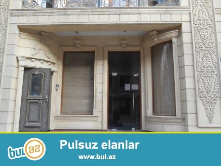 **РУФАТ*АЙНУР** Nerimanov Rayonu Polis idaresinin yaninda yerlesen binanin 1ci mertebesi ofis kimi kiraye verilir, 80 kv...