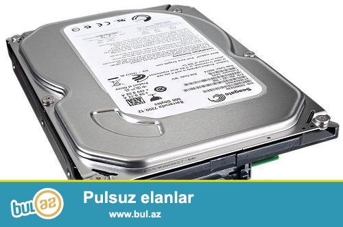 80gb hard disk SATA personal üçün. Hard disk alınandan qalıb qıraqda...
