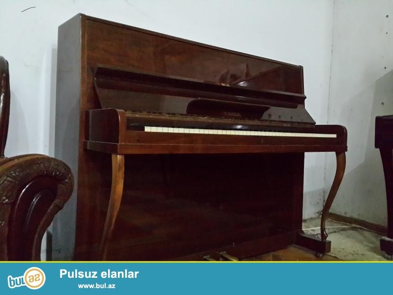 pianino ag və koricnevı əla vəziyyətdə. təmiri və köklən<br /> nməsi...