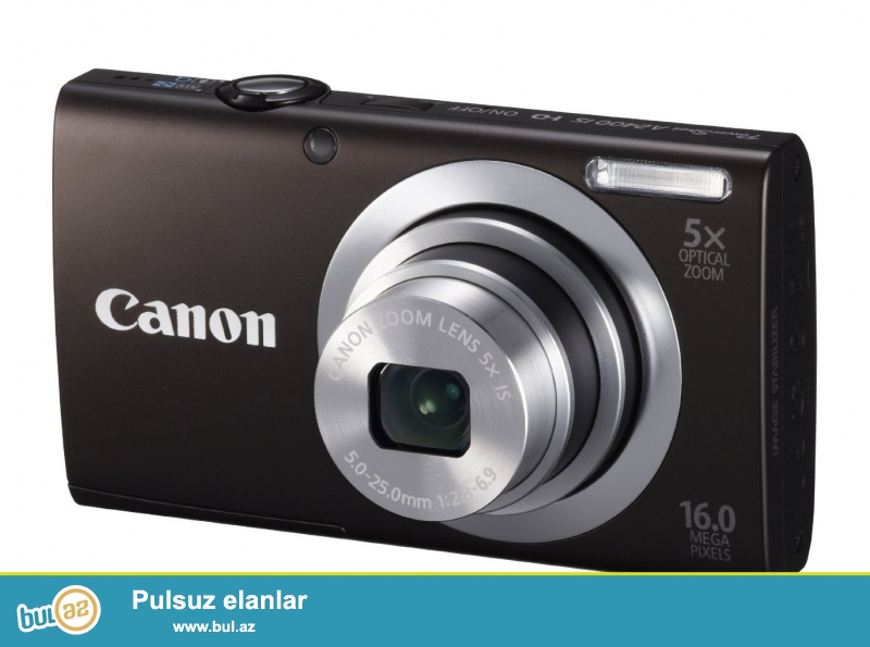 Canon A 2500 16 MP HD kamera.<br /> Yenidir.<br /> Qiymət:111 AZN<br /> 1-İl zəmanəti var<br /> Dubaydan gətirmişəm satıram...