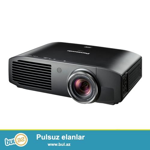 satiram Panasonic PTAE8000u Full-HD 3D Home Cinema Projector hec islemeyib tezededi