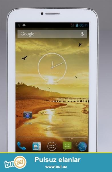 Yeni nömrəli oeiginal planşet.topdan və pərakəndə satış<br /> Növü:Tablet PC<br /> Yaddaş:8GB<br /> Şəbəkə:Daxili 3G, Bluetooth, WiFi<br /> Ekran:7<br /> Portlar:DC Jack, kulaklık Jack, OTG, TF kart<br /> Marka adı:Sanei<br /> Dillər:English, Russian, Spanish Portuqaliya, Türkiyə, Çin, Fransız, Yapon<br /> Ekran tipi:Taç ekran<br /> Prosessor...