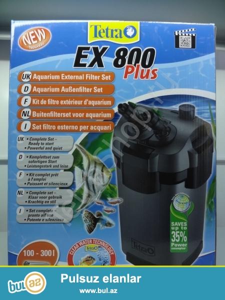 Tetra EX 800 Plus təzə.Bio filtir.