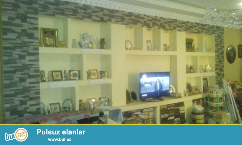 QAZLI YENİ TİKİLİ!!! Binəqədi rayonu, 7 mkr, Ankara şadlıq sarayının yaınlığında 17/18 ümumi sahəsi 95 kv...