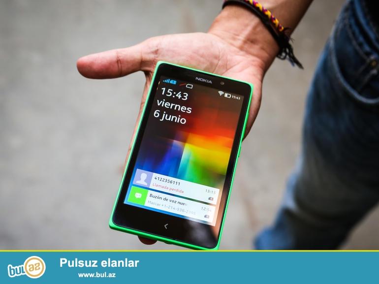 Nokia XL satıram. Androiddir. 2 nömrədir. Ustaya getməyib...