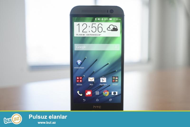 HTC One M8 16GB.Ela veziyyetde.Ekraninda arxasinda bir dene de olsun cizigi yoxdur...