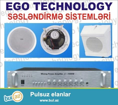 EgoTechnology  şirketi  artiq  bir  neçe ildir  ki, satdiği  ve  quraşdirdiği  mehsullari  Azerbaycan  bazarina  çixartmişdir...