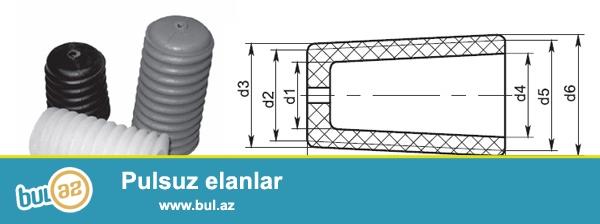 Kalpacok KP 22 ŞF ve ŞS izolyatorlari ucun <br /> 1 ədədi  18 qepik