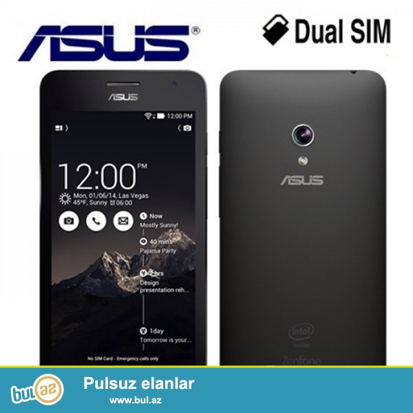YENI.ORIGINAL.1GB RAM 16GB YADDAŞ 8MP KAMERA. ÖN VƏ ARXA KAMERA 3G<br />