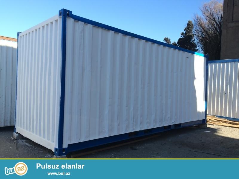 6 ve 12 metrelik konteynerler satilir,her olcude ofislerin sifarishle hazirlanmasi,hazir ofislerin satishi,Baki daxili unvana catdirilmasi...