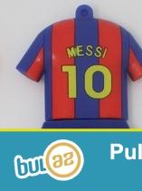 Barcelonanın ulduz futbolçusu Leonel Messi adında ve nömresinde USB Flaş Kart...